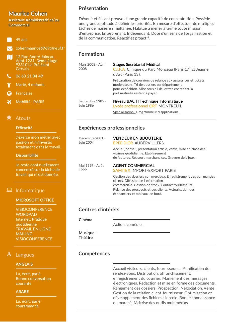 outils de planification anglais cv