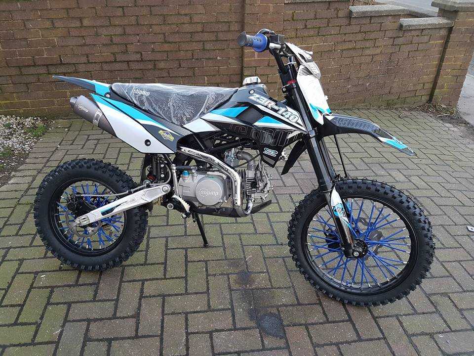 2014 Honda 250cc Dirt Bike