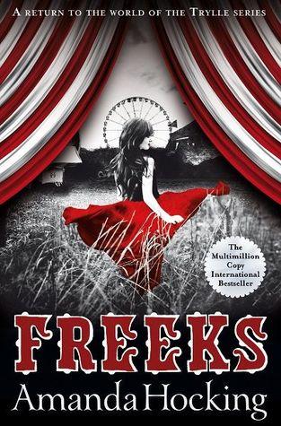 Blog Tour: FREEKS by Amanda Hocking (Review + Q&A)
