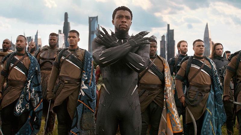 Black Panther Becomes The First Superhero Movie Nominated For Best