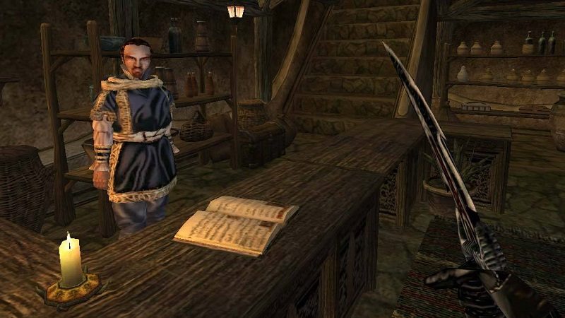 You can get a free copy of Elder Scrolls: Morrowind for PC