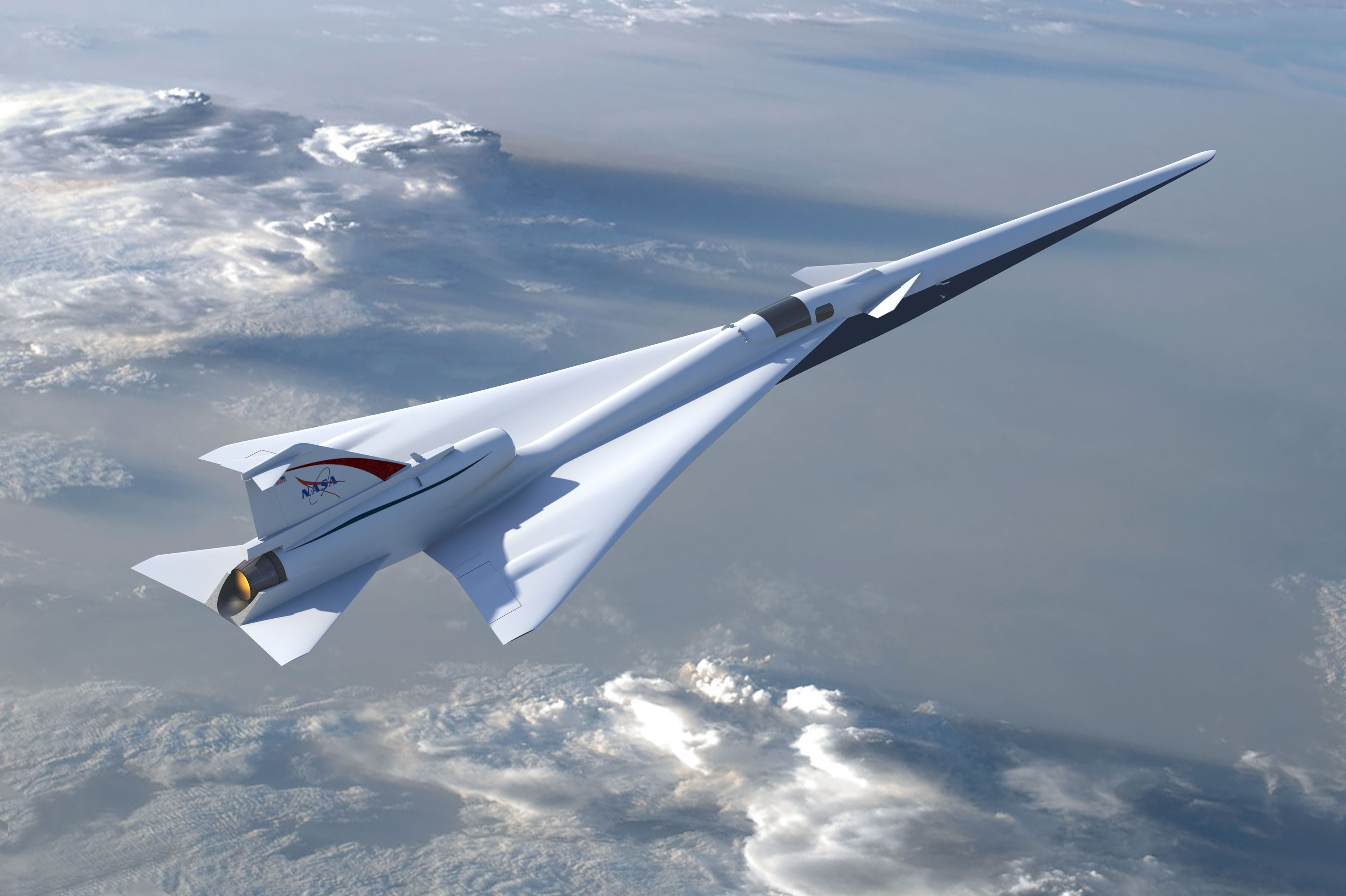 NASA To Fly Super-Quiet Supersonic Jets Over U.S. Cities 'Within Three Years'