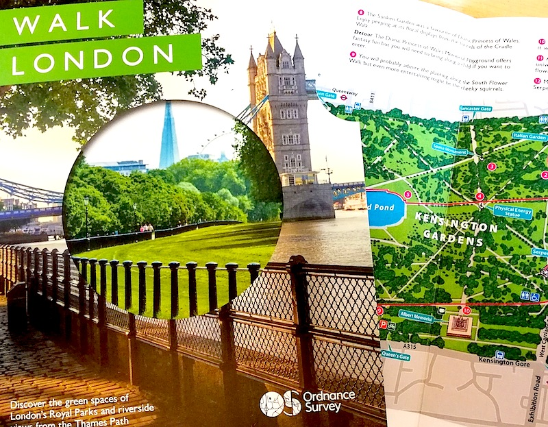 When your work makes you proud – Ordnance Survey's new Walk London map