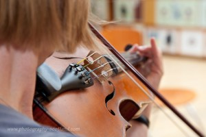 Working on volume on the fiddle