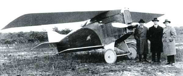 Christmas Bullet Aircraft