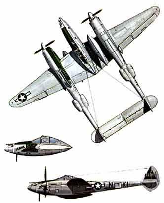 P 38 Lightning Aircraft A-7 Corsair II Aircraft Wiring
