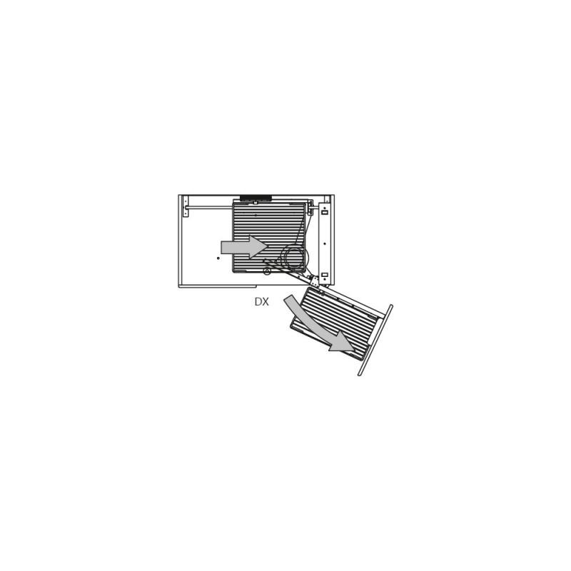 Cestello estraibile per cucina base ad angolo 803BWY  Fidea