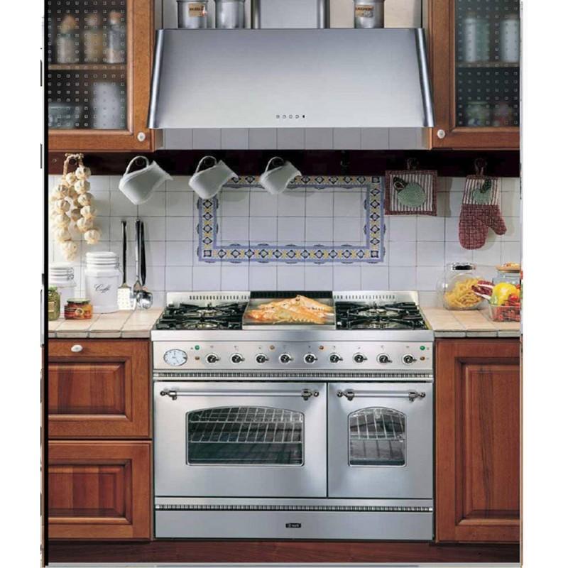 Cucina Ilve PD90N  doppio forno piano cottura 6 bruciatori  Fidea Lecce