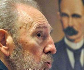 Fidel, el más aventajado discípulo de Martí. Foto: Archivo.
