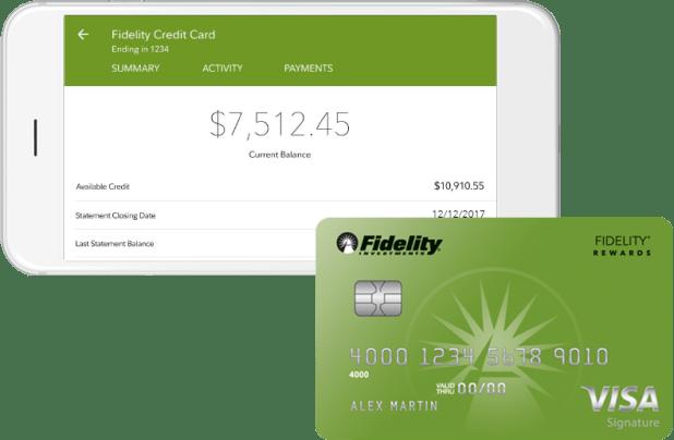 Fidelity credit card login giftsite mobile for visa signature credit card fidelity colourmoves