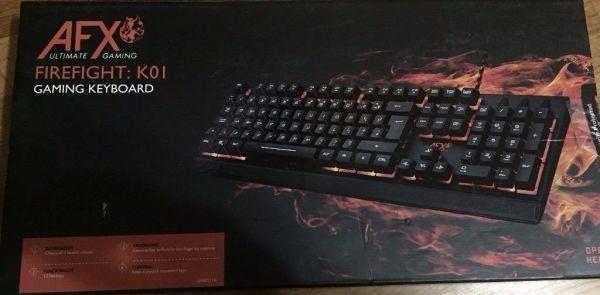 AFX Firefight: K01 Gaming Keyboard 1