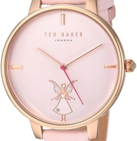 Ted Baker Women's 'KATE' Quartz Stainless Steel and Leather Casual Watch