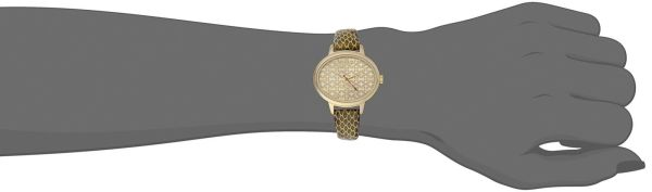 Vivienne Westwood Women's Watch Gold Dial Display Gold Leather Strap VV102GDGD  3