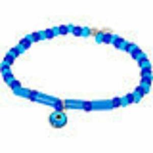 TATEOSSIAN Blue & Silver Bead Bracelet RRP £145