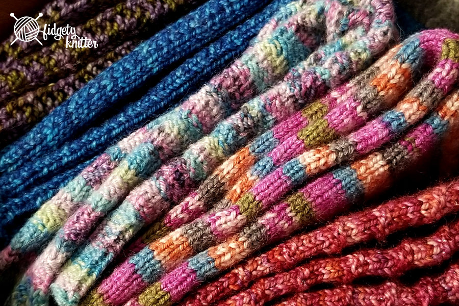 Sock drawer close up