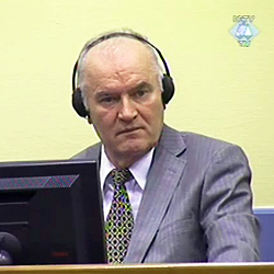 Ouverture du procès de Ratko Mladic