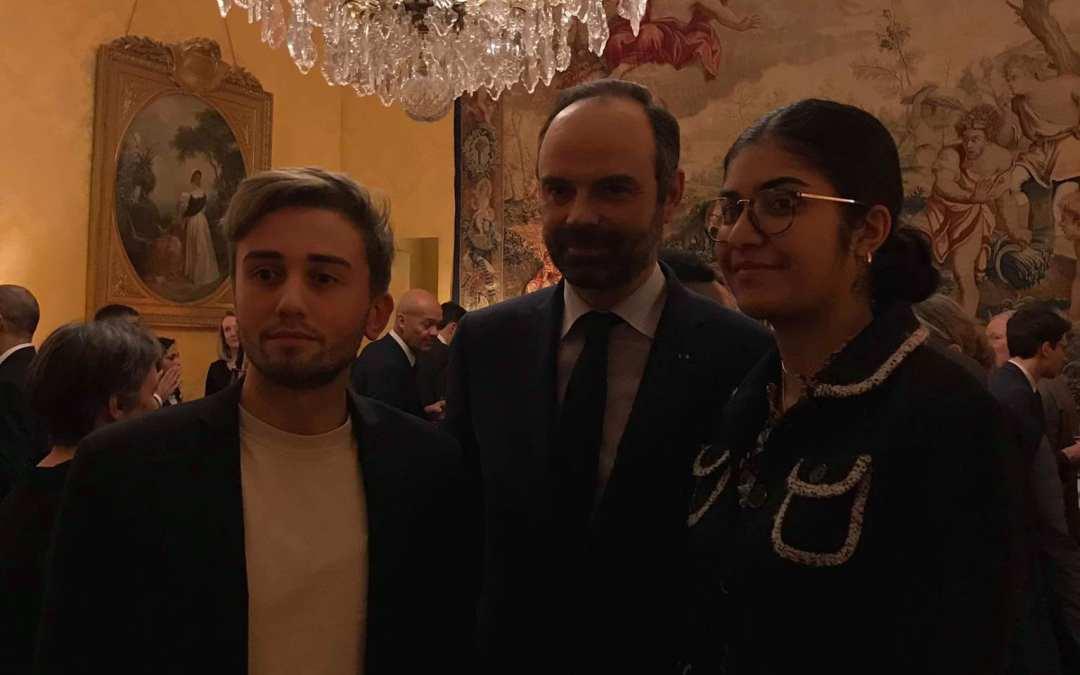 La FIDL invitée à Matignon pour le Prix Ilan Halimi