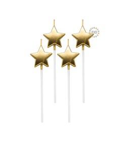 Vela Estrella Dorado