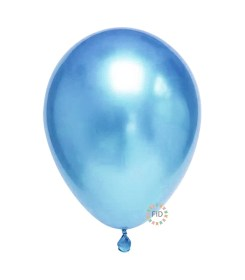 Globo Cromado Azul