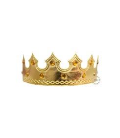 Corona Rey Tela Dorado