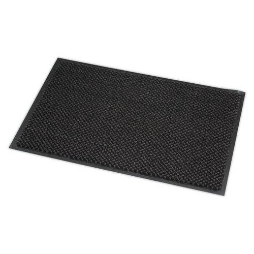 tapis d entree 60 x 90 cm absorbant gris
