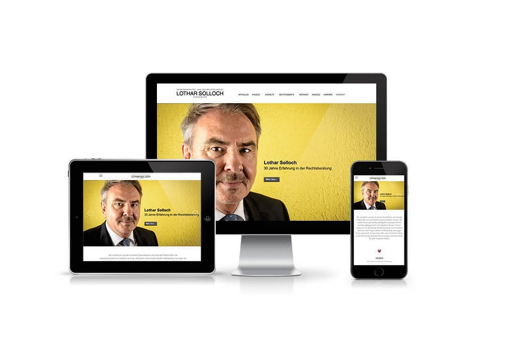 Webdesign für Unternehmen
