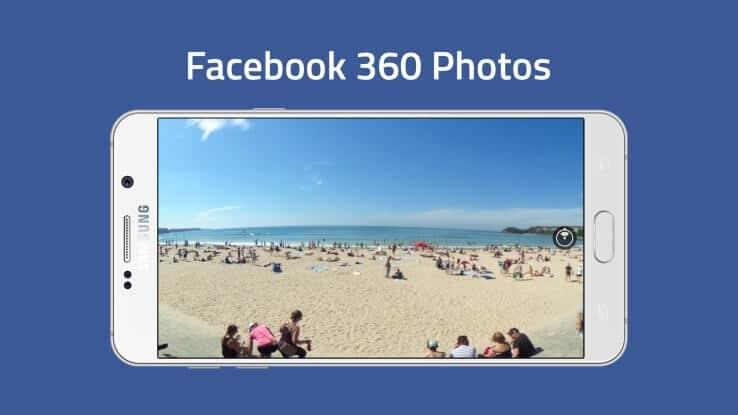 Facebook bringt 360° Fotofunktion