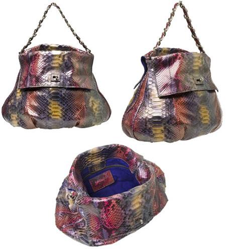 Zagliani_multi-coloured_Python_Bag