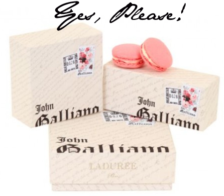 Laduree Galliano