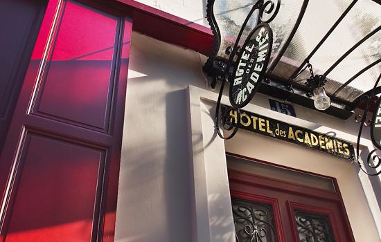 Hotel Academie des arts