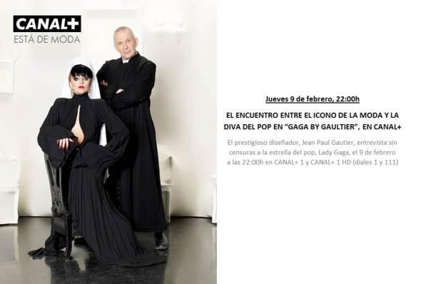 Jean Paul Gaultier+Lady Gaga