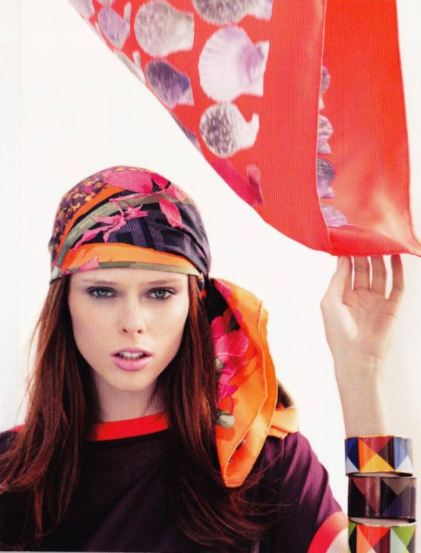 Hermès scarfs 2012