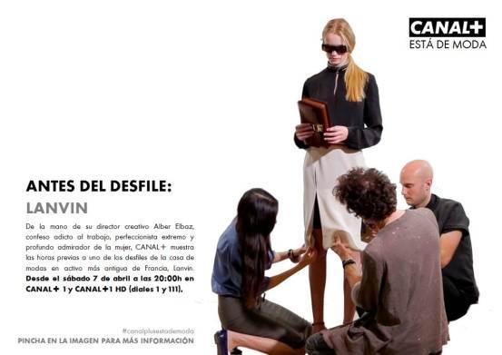 Lanvin, Canal Plus España