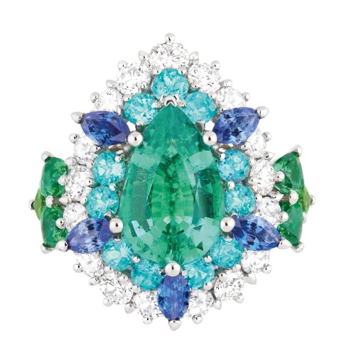 Dear Dior emerald ring