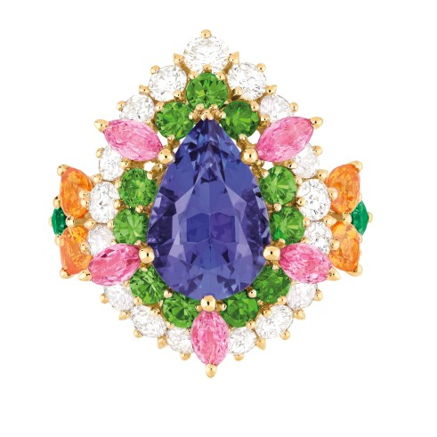 Dear Dior tanzanite ring