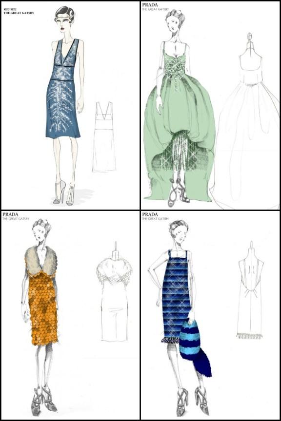 Miuccia Prada diseñadora en El Gran Gatsby