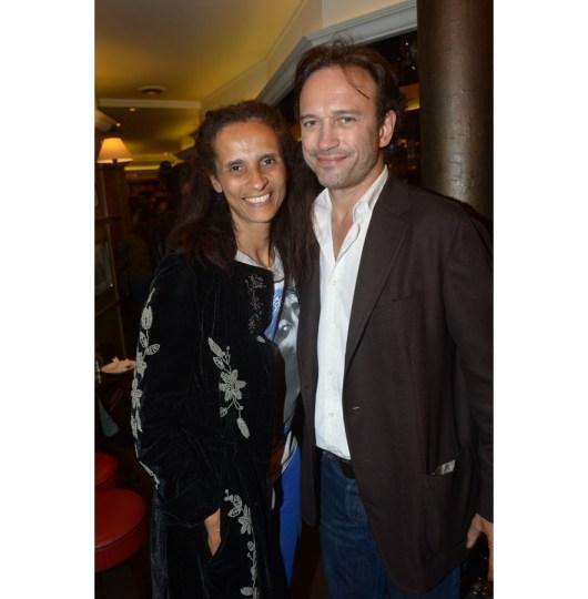 Karine Silla Pérez et Vincent Pérez