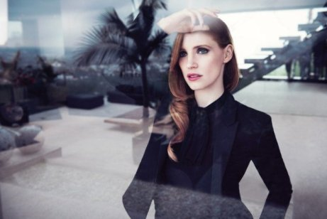 Jessica Chastain for Manifesto, YSL