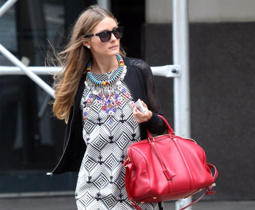 Olivia PAlermo with SC bag