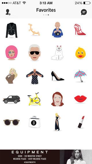 Harpers Bazaar Emoji