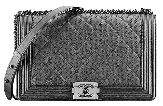 Chanel-Metallic-Perforated-Boy-Bag