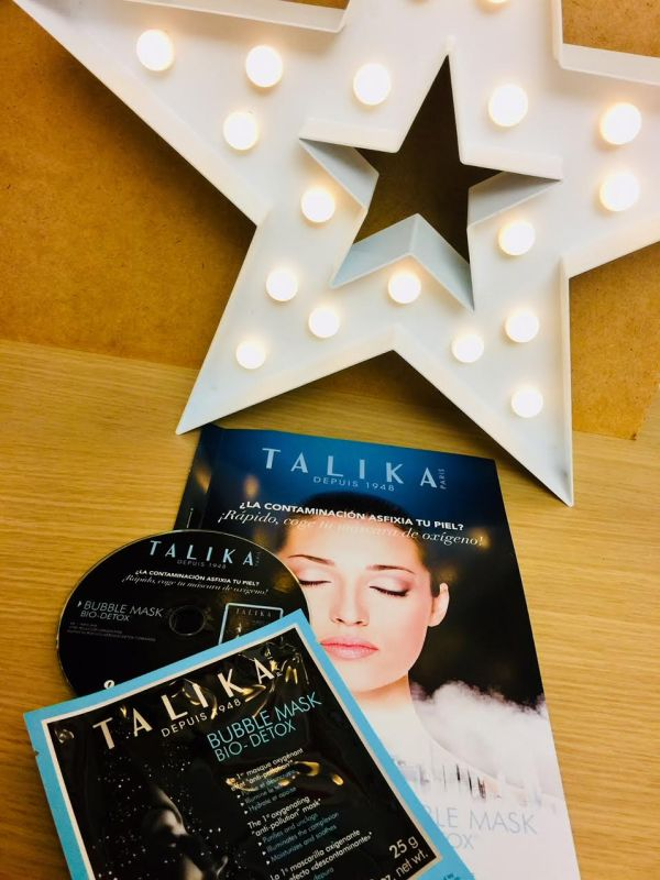 bubble mask bio detox talika