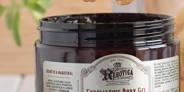 Gel exfoliante corporal y Crema de pies, Mi Rebotica