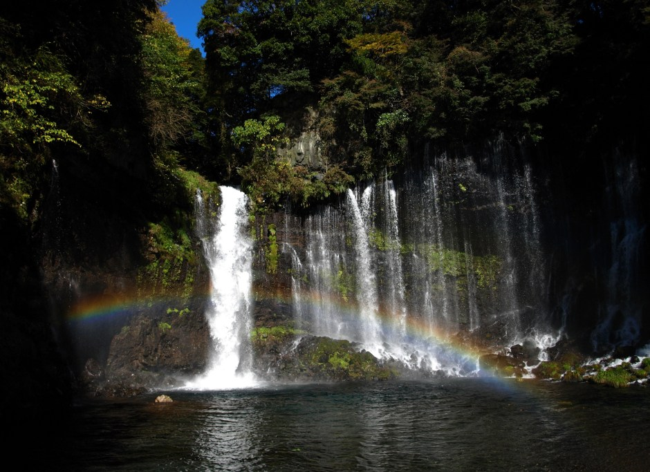 【Asset No.3 Of Mt.Fuji】World Heritage Site; Shiraito Falls
