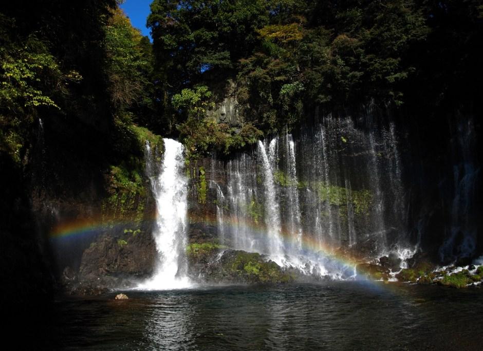 【Asset No.3 Of Mt.Fuji】World Heritage Site; Shiraito Falls