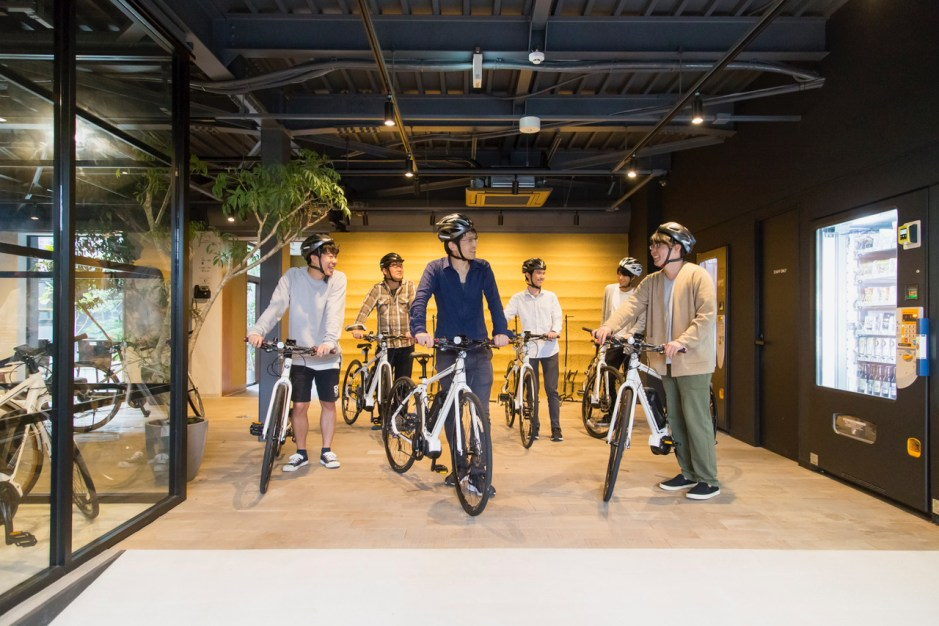The First eBike hotel in JAPAN Good access from Hakone & Mt Fuji