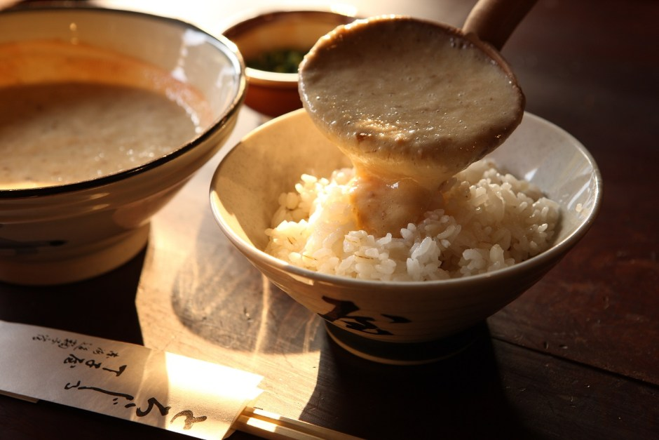 Choji-Ya: Tasty grated Yam dish in Mariko district