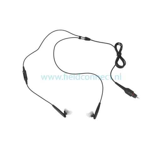 Motorola NNTN8298 Wireless Earbud, 2 wire