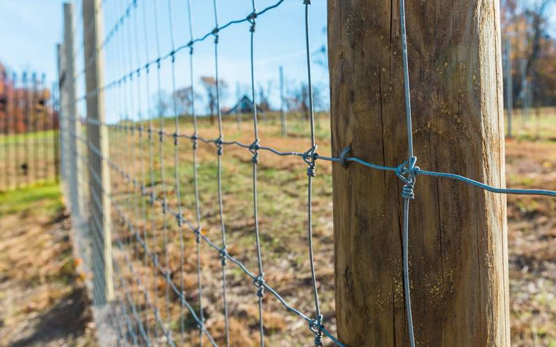 Of Different Types Ofknots And Connectors For Electric Fence