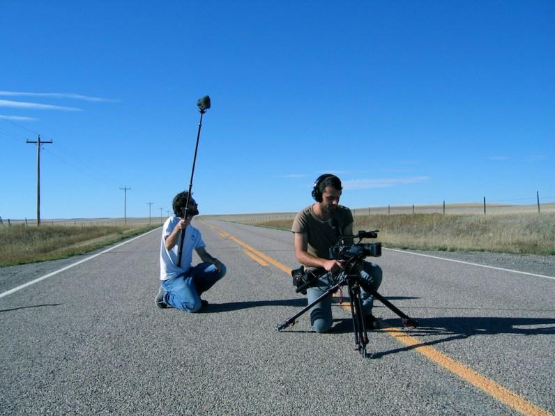 "Nick und Martin ""on the road"" (Foto: Kari Wilton)"